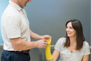 wound care hand therapy